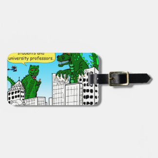 920 Monsters eat honor students for brain food Luggage Tag