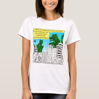 920 Monsters eat honor students for brain food T-Shirt