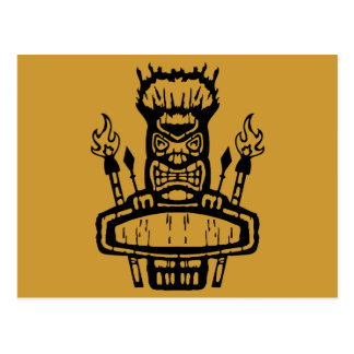 9213032011 Tiki (Rocker & Kustom) Postcard