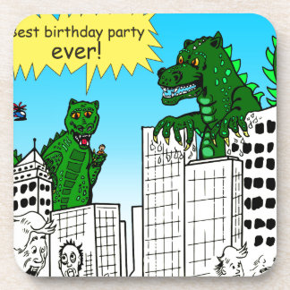 921 best birthday party ever monster said coaster