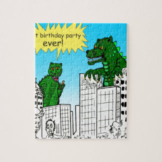 921 best birthday party ever monster said jigsaw puzzle