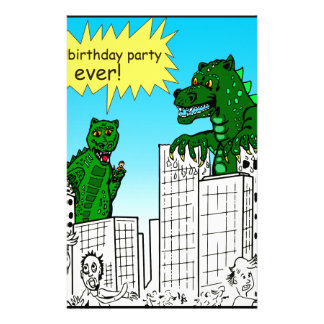 921 best birthday party ever monster said stationery