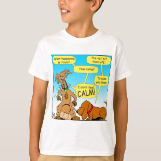 926 neutered doggie cartoon T-Shirt