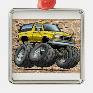 92-96 Yellow Bronco Ornament