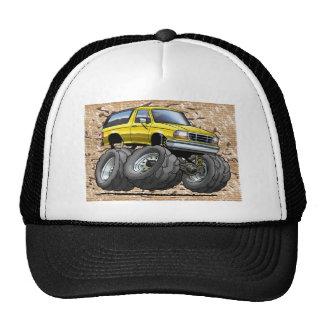 92-96 Yellow Bronco Trucker Hats
