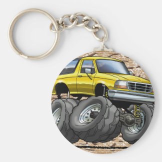 92-96 Yellow Bronco Key Ring
