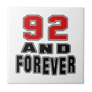 92 birthday designs tiles