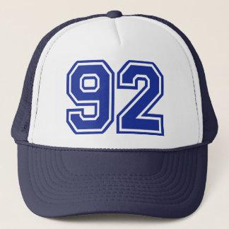 92 - number trucker hat