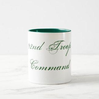 92nd Troop Command Two-Tone Mug
