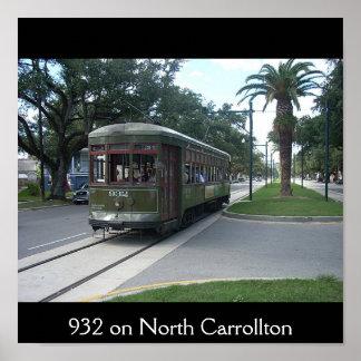 932 on North Carrollton Poster
