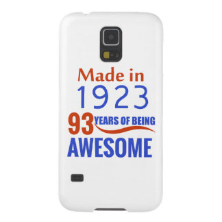 93 birthday design galaxy s5 cover