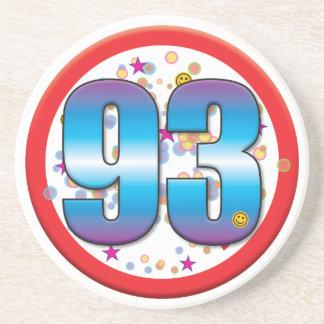 93rd Birthday v2 Drink Coaster