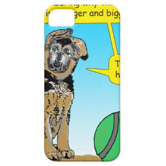 948 Puppy thinks ball getting bigger cartoon Case For The iPhone 5