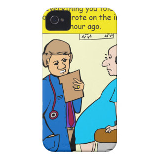 949 tell me everything you told the nurse cartoon iPhone 4 cover