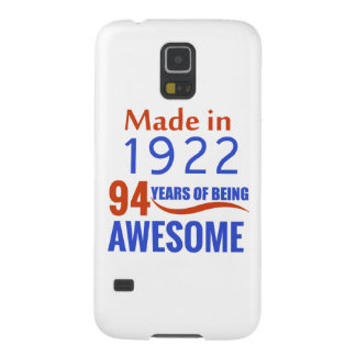 94 birthday design galaxy s5 covers