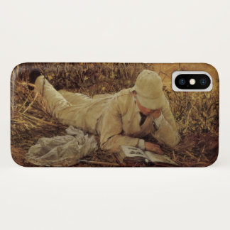 94 Degrees in the Shade, Sir Lawrence Alma Tadema iPhone X Case
