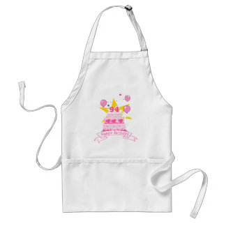 94 Year Old Birthday Cake Standard Apron