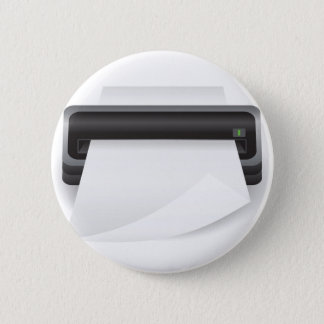 94Portable Scanner _rasterized 6 Cm Round Badge