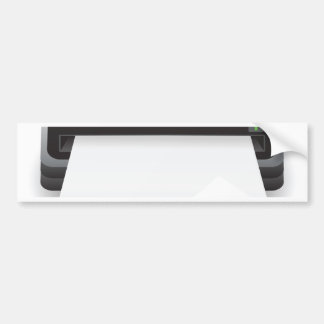 94Portable Scanner _rasterized Bumper Sticker