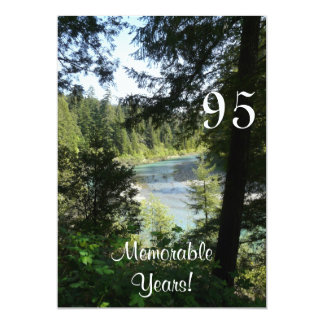95 Memorable Years/Birthday Celebration-Lakeview Card