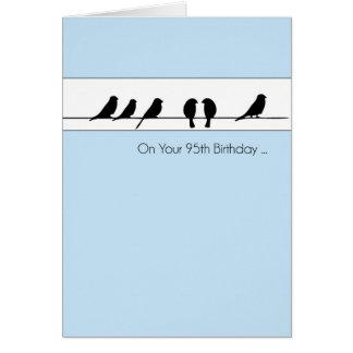95th Birthday Birds Chorus Card