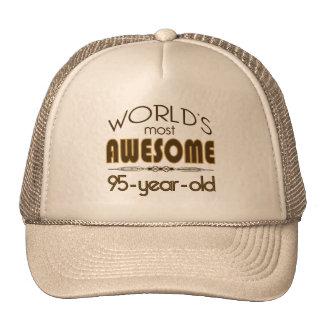 95th Birthday Celebration World's Best in Brown Cap