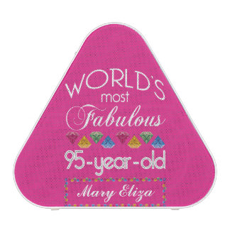 95th Birthday Most Fabulous Colorful Gems Pink