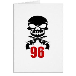 96 Birthday Designs Card