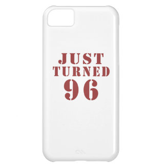 96 Just Turned Birthday iPhone 5C Case