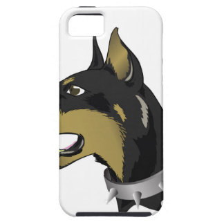 96Angry Dog _rasterized iPhone 5 Covers
