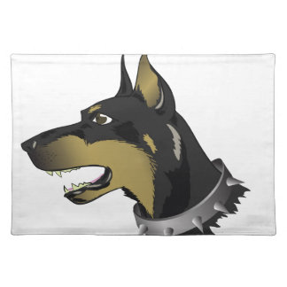 96Angry Dog _rasterized Placemat