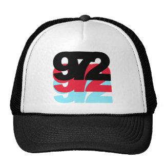 972 Area Code Hats
