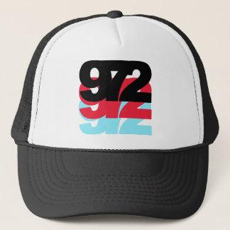 972 Area Code Trucker Hat
