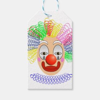 97Clown Head_rasterized Gift Tags