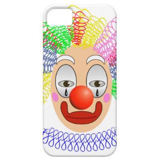 97Clown Head_rasterized iPhone 5 Case
