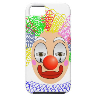 97Clown Head_rasterized Tough iPhone 5 Case