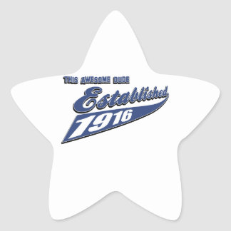 97th birthday designs sticker