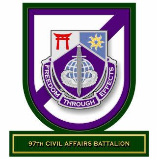 97th Civil Affairs Battalion flash Acrylic Cut Outs