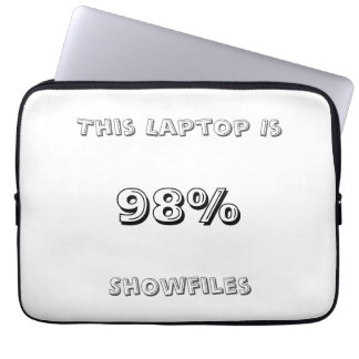 98% Showfiles Laptop Sleeve