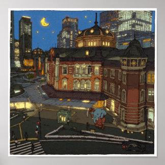 98: Tokyo Station/Marunochi Poster