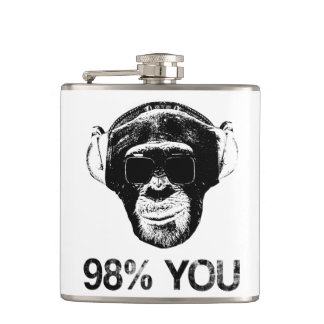 98% YOU HIP FLASK