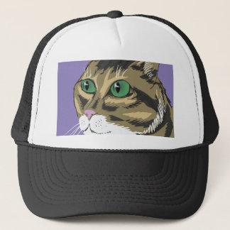 98Cat Head_rasterized Trucker Hat