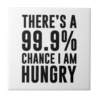 99.9 Chance I'm Hungry Tile