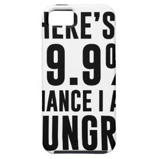 99.9 Chance I'm Hungry Tough iPhone 5 Case