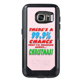 99.9% CHRISTMAS (blk) OtterBox Samsung Galaxy S7 Case