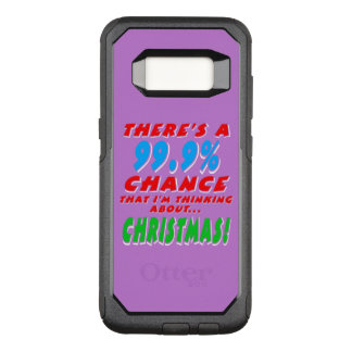 99.9% CHRISTMAS (wht) OtterBox Commuter Samsung Galaxy S8 Case