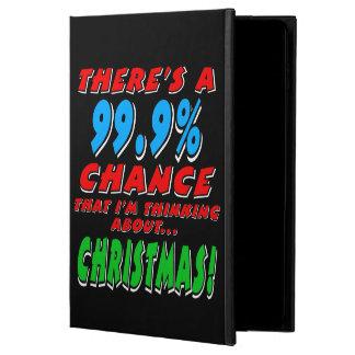 99.9% CHRISTMAS (wht) Powis iPad Air 2 Case