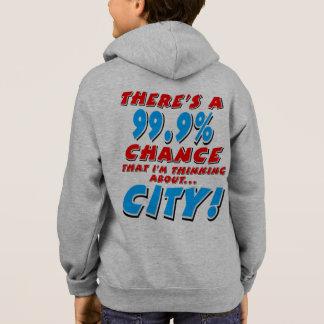 99.9% CITY (blk) Hoodie