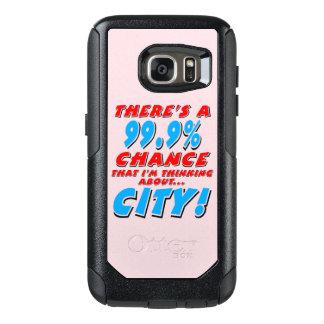 99.9% CITY (blk) OtterBox Samsung Galaxy S7 Case