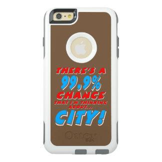 99.9% CITY (wht) OtterBox iPhone 6/6s Plus Case